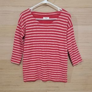 Like New Madewell 3/4 Sleeve Top